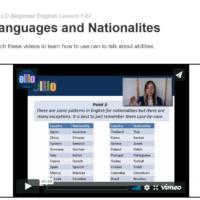 Idiomas y nacionalidades