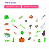 Vegetables (las verduras)