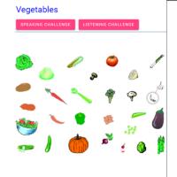 Vegetables (las verduras)