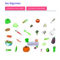 les légumes (las verduras)