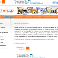 Azahar: aplicaciones digitales para personas con TEA