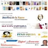 Publicaciones monográficas del Día de las Letras Canarias