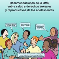 Recomendaciones sobre salud y derechos sexuales y reproductivos de los adolescentes