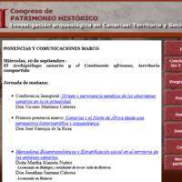 VI Jornadas de Patrimonio Histórico. Lanzarote