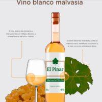 Vino blanco de malvasía