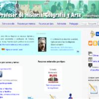Profesor de Historia, Geografía y Arte