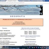 Recursos de Ciencias Sociales: Geografía 2º BACH