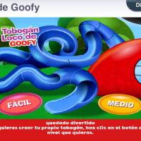 Juego: El tobogán loco de Goofy
