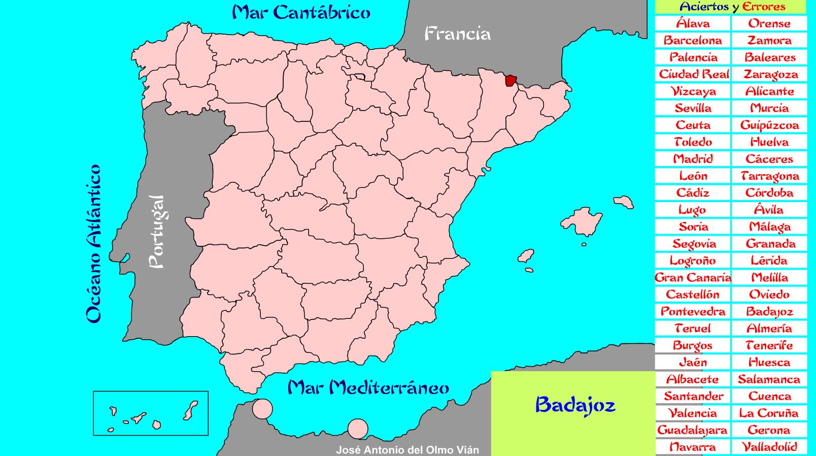 Mapa Interactivo Islas Baleares.Autonomias Mapa Interactivo Recursos Educativos Digitales