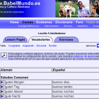 BabelMundo - Idioma y cultura alemana