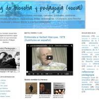 Blog de Filosofía y Pedagogía (social)