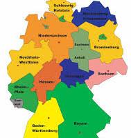 Spiel: die deutschen Bundesländer