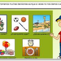 Trastornos cualitativos de las funciones comunicativas y declaración de intenciones.