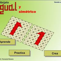 Dibujar figuras - Simetrías