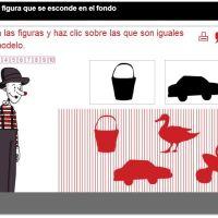 Discriminación visual figura/fondo