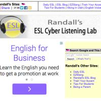 Randall's ESL Cyber Listening Lab - Actividades de Listening online para todos los niveles