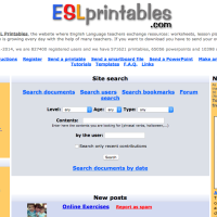 Esl Printables - Intercambio de materiales de inglés