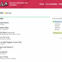 ELLA -English Language Lab Asturias - Actividades online para distintos niveles y destrezas