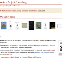 Free ebooks - Project Gutenberg