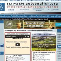 Bob Wilson's autoenglish.org
