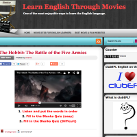 Learn English Through Movies - Aprende inglés con películas