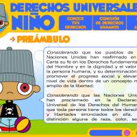 Derechos universales de los niños