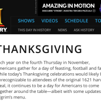 Thanksgiving - History Channel