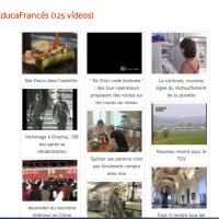 Educafrancés. 125 vídeos en francés