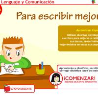 IDEAS para lenguaje y comunicación