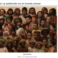El mundo actual. Población y recursos