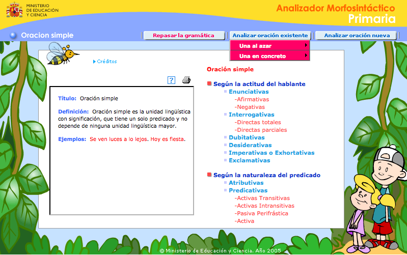 Analizador Morfosintáctico Recursos Educativos Digitales