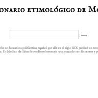 Diccionario etimológico de Monlau