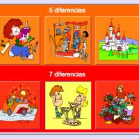 Diferencias (encontrar las diferencias)