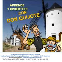 Aprende y diviértete con Don Quijote