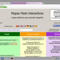 Mapas flash interactivos