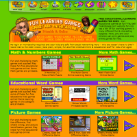 Thekidzpage-learning games