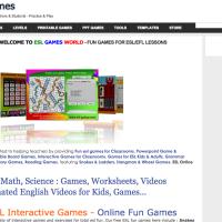 ESLgamesworld-Juegos para aprender inglés