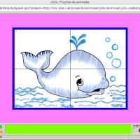 Puzzles de animales (Jclic)