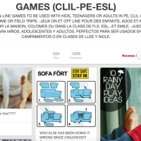 Games for CLIL