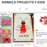 Animals projects 4 kids