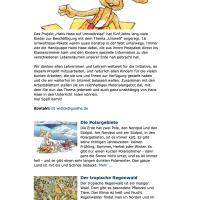 Hans Hase auf Umweltreise-Tiere