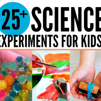 25 + Science experiments for kids