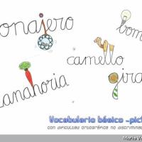 Vocabulario básico -pictográfico