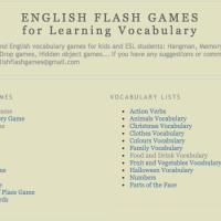 English Flash games