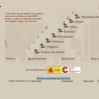 Miguel de Cervantes. Web principal