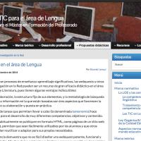 Webquests en el área de Lengua