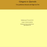 Góngora vs Quevedo. Una polémica literaria.