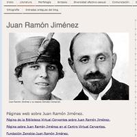 Juan Ramón Jiménez. Recursos didácticos