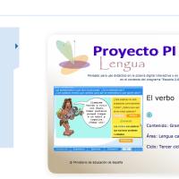 El verbo. Proyecto Descartes PI