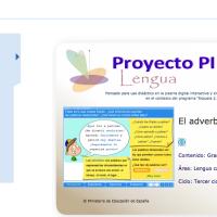 El adverbio. Proyecto Descartes PI